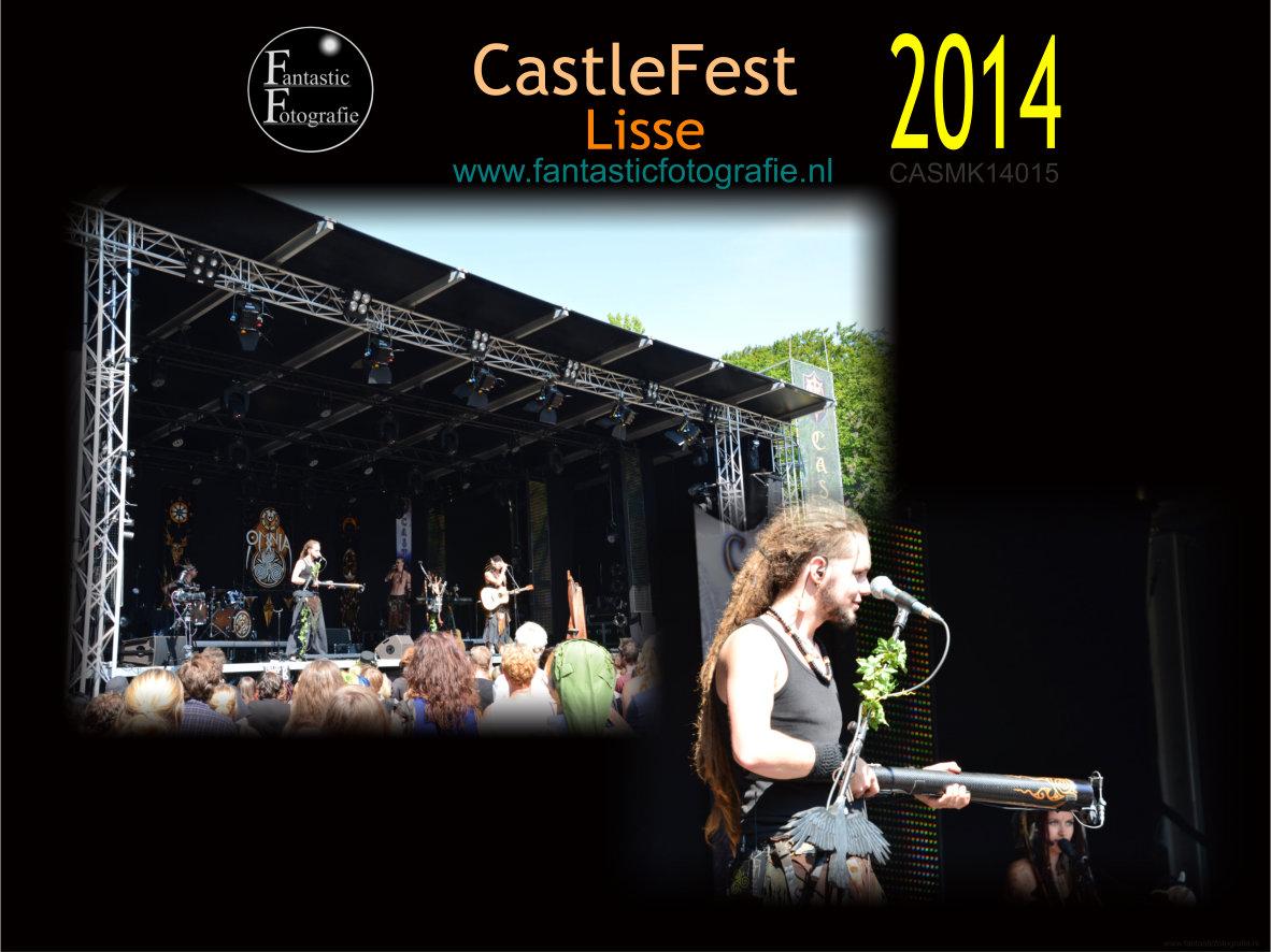 Castlefest 2014 achterin de tuinen van de Keukenhof